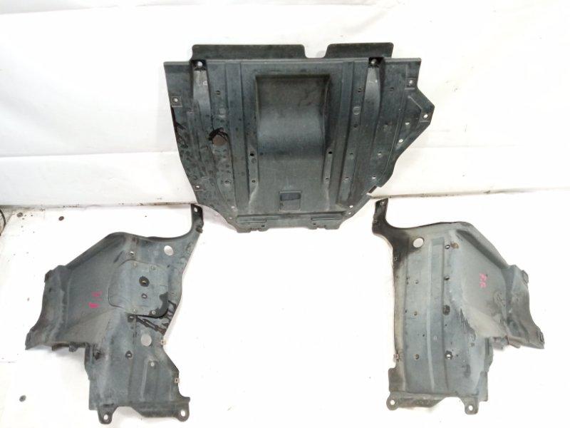 Защита двигателя Honda Fit GP1 LDA 2010 передняя
