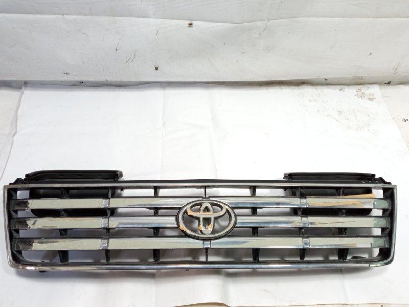 Решетка радиатора Toyota Land Cruiser Prado VZJ95 1KDFTV 2001 передняя