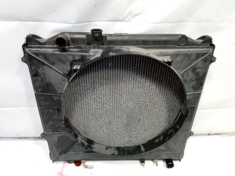 Радиатор основной Toyota Land Cruiser Prado VZJ95 1KDFTV 2001 передний