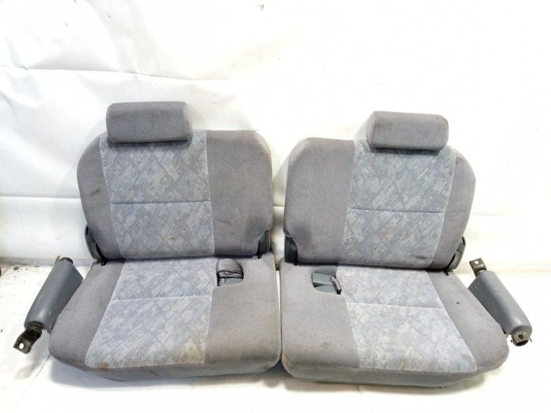 Сидение Toyota Land Cruiser Prado VZJ95 1KDFTV 2001 заднее