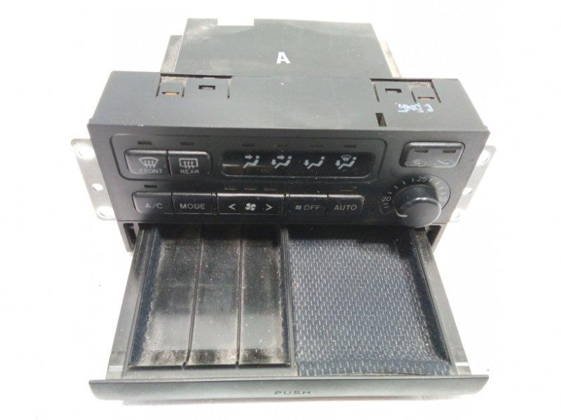 Блок управления климат-контролем Toyota Land Cruiser Prado VZJ95 1KDFTV 2001 передний