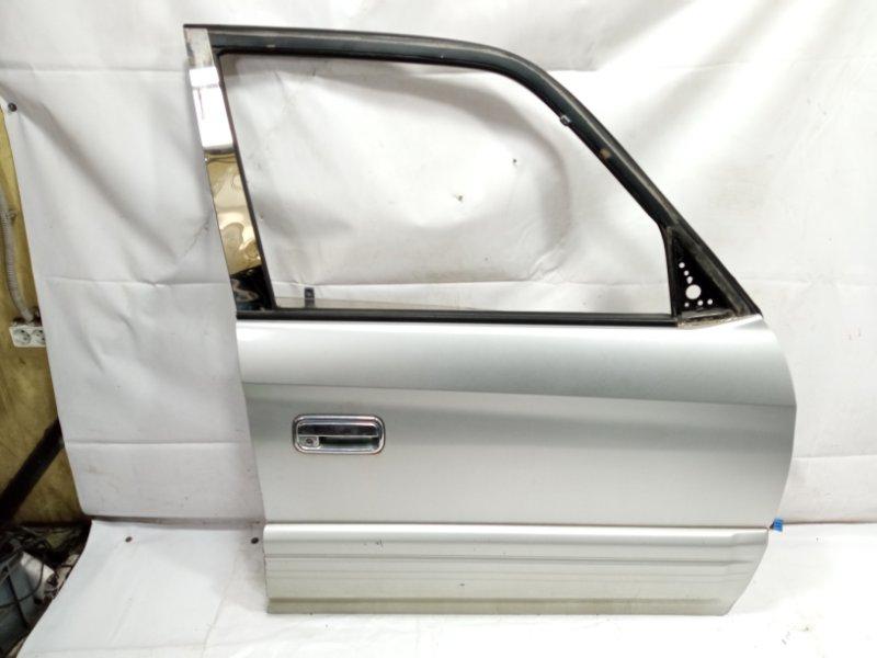 Дверь Toyota Land Cruiser Prado VZJ95 1KDFTV 2001 передняя правая