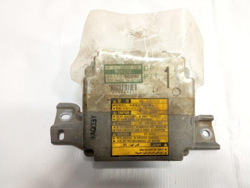 Блок управления airbag Toyota Land Cruiser Prado KDJ90 1KDFTV 2001
