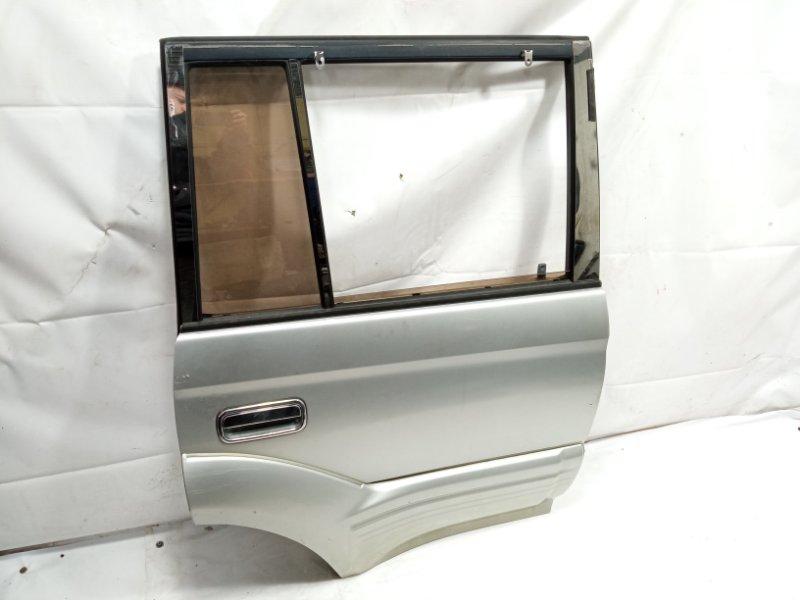 Дверь Toyota Land Cruiser Prado VZJ95 1KDFTV 2001 задняя правая