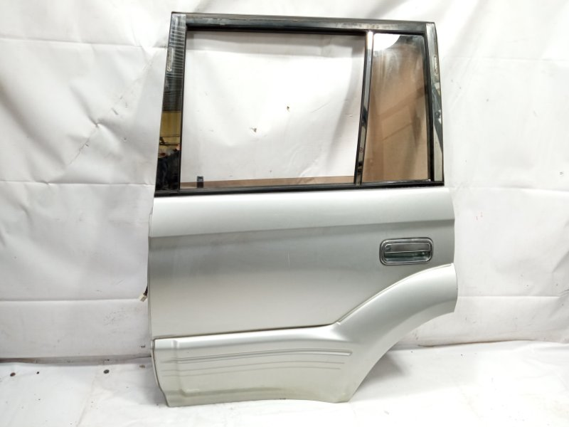 Дверь Toyota Land Cruiser Prado VZJ95 1KDFTV 2001 задняя левая
