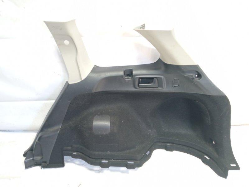 Обшивка багажника Toyota Corolla Fielder NRE161 1NZFXE 2013 задняя правая