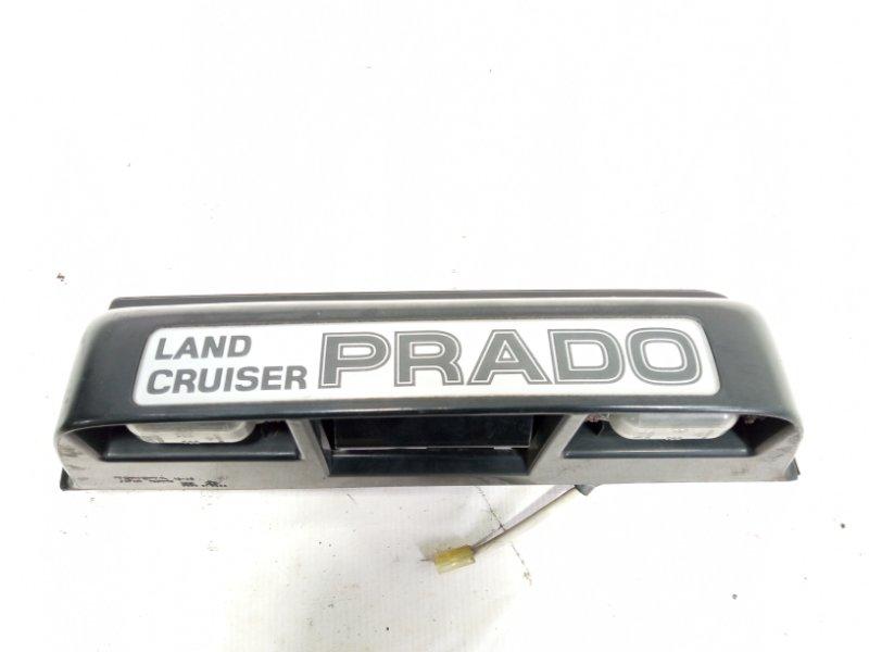 Ручка задней двери Toyota Land Cruiser Prado VZJ95 1KDFTV 2001 задняя