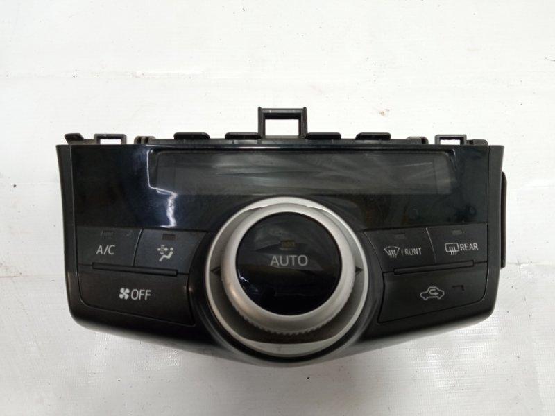 Блок управления климат-контролем Toyota Prius Alpha ZVW41 2ZRFXE 2011