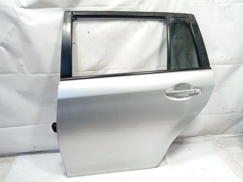 Дверь Toyota Corolla Fielder NRE161 1NZFXE 2013 задняя левая
