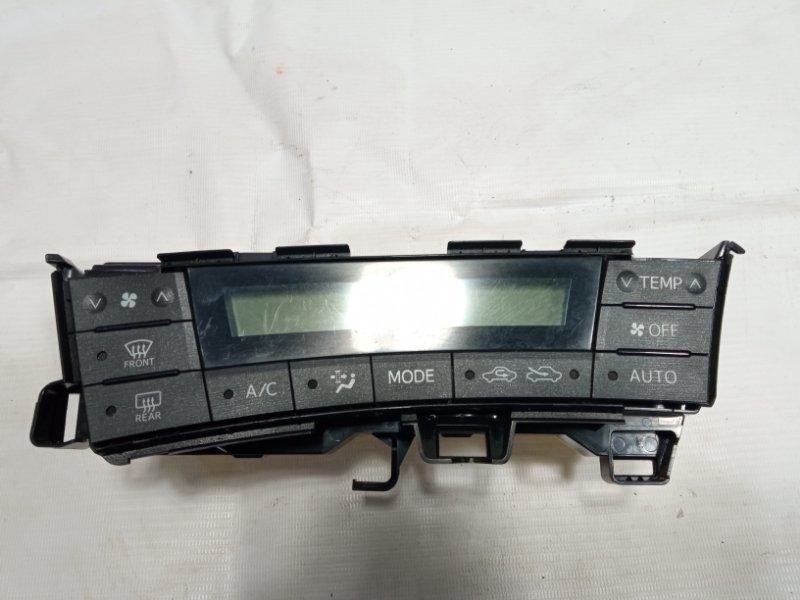 Блок управления климат-контролем Toyota Prius ZVW30 2ZRFXE 2010