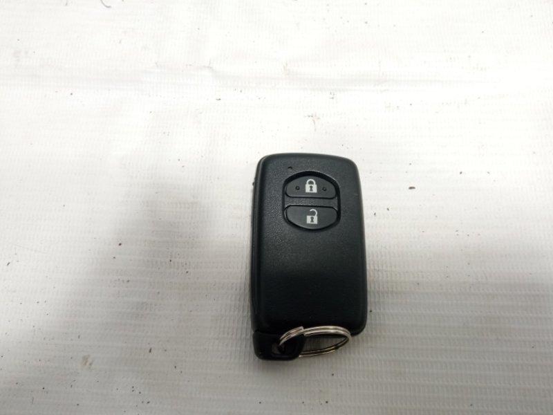 Ключ зажигания Toyota Prius ZVW30 2ZRFXE 2010