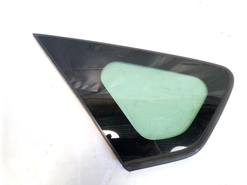 Стекло собачника Toyota Prius ZVW30 2ZRFXE 2010 заднее левое