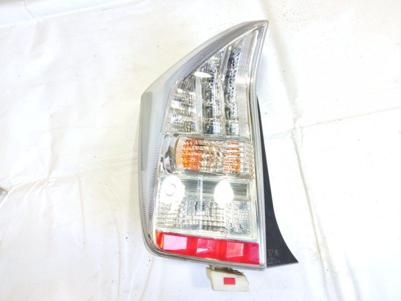 Стоп-сигнал Toyota Prius ZVW30 2ZRFXE 2010 задний левый