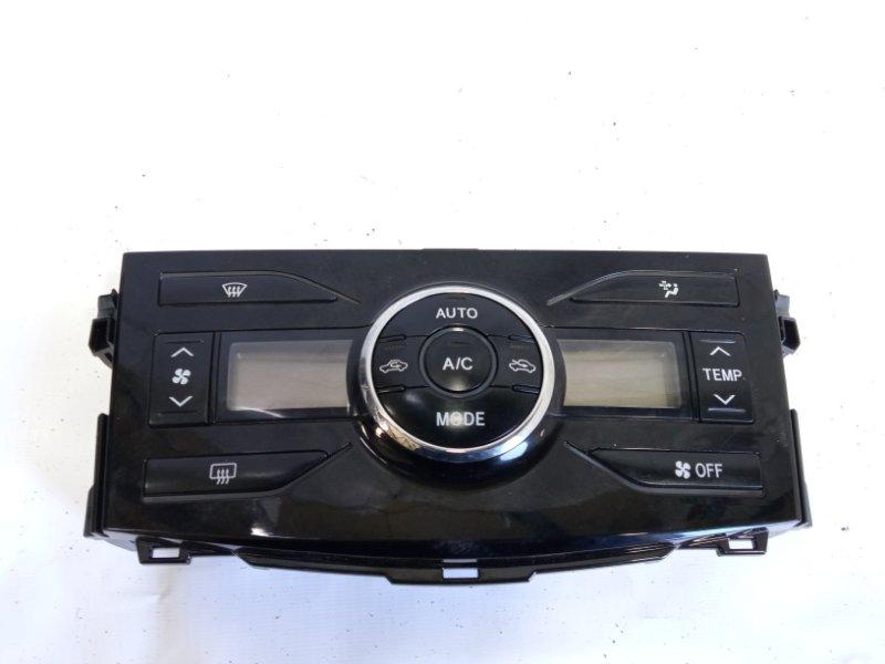 Блок управления климат-контролем Toyota Corolla Fielder NZE141 1NZFE 2009