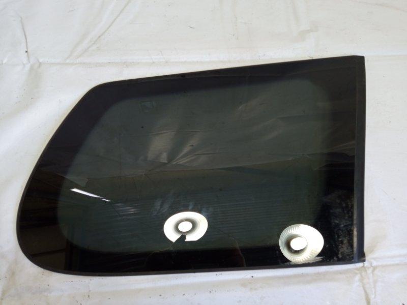Стекло собачника Toyota Corolla Fielder NZE141 1NZFE 2009 заднее правое