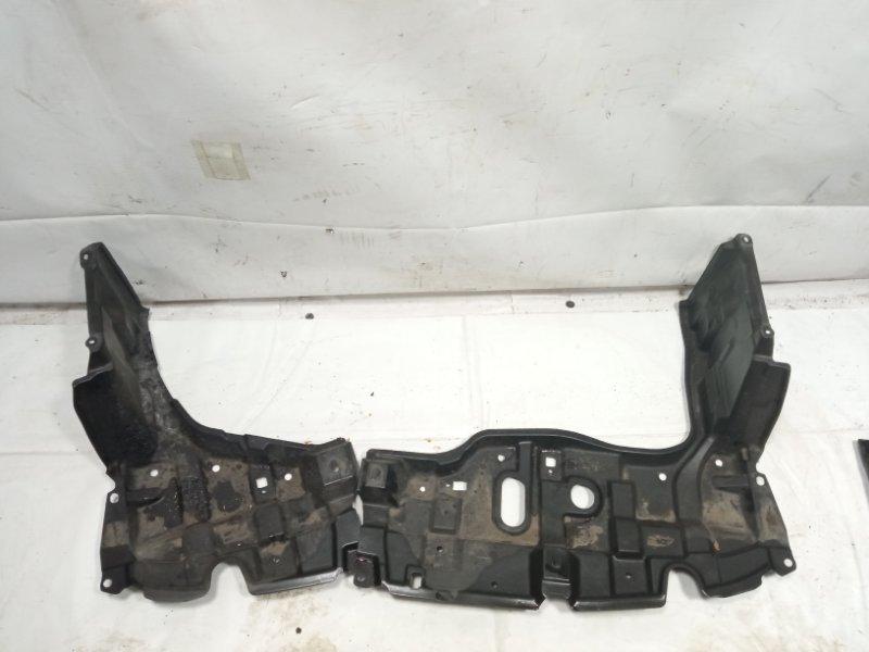 Защита двигателя Toyota Corolla Fielder NKE165 2ZRFAE 2012 передняя