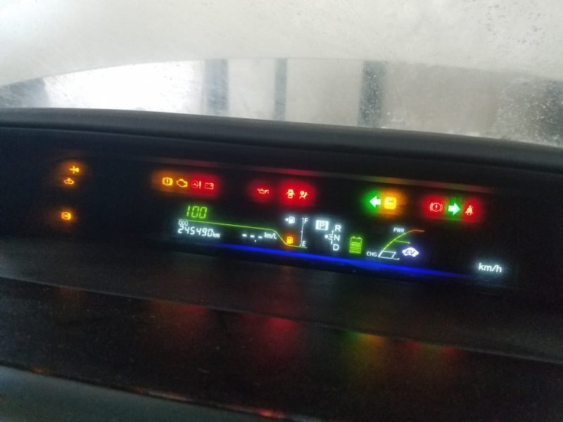 Спидометр Toyota Prius Alpha ZVW41 2ZRFXE 2011 передний