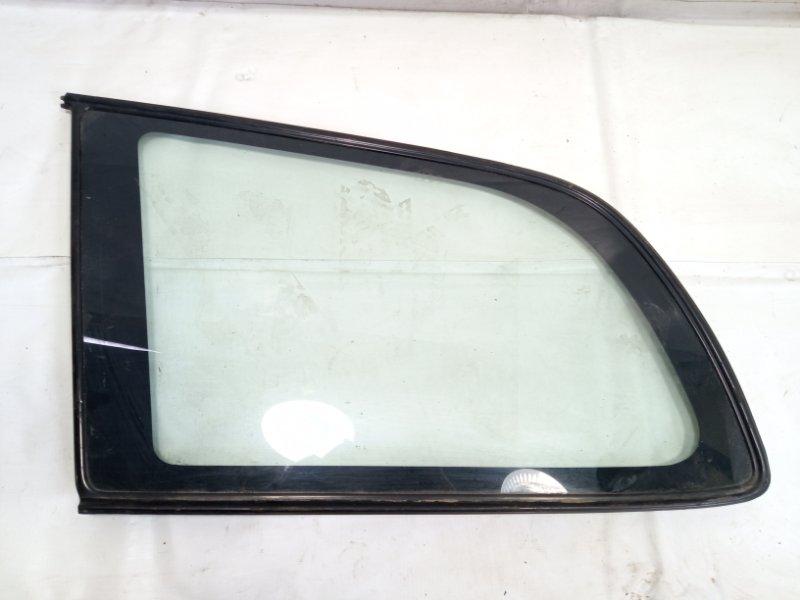 Стекло собачника Toyota Caldina AT191 2CT 1996 заднее левое