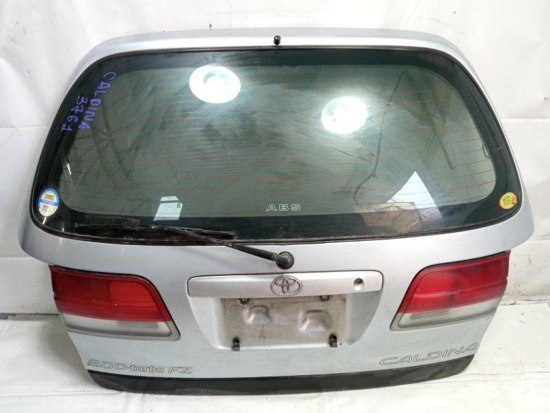 Дверь 5я Toyota Caldina AT191 2CT 1996 задняя