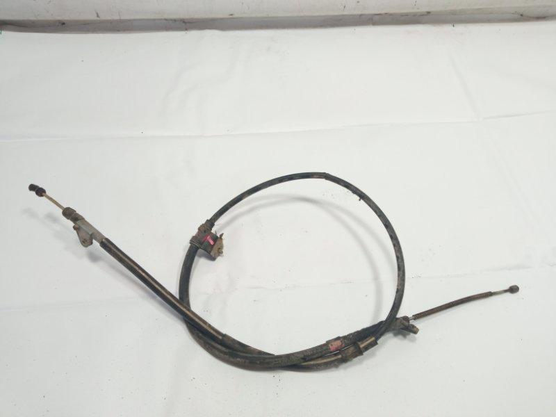 Тросик ручника Toyota Caldina AT191 2CT 1996 задний левый