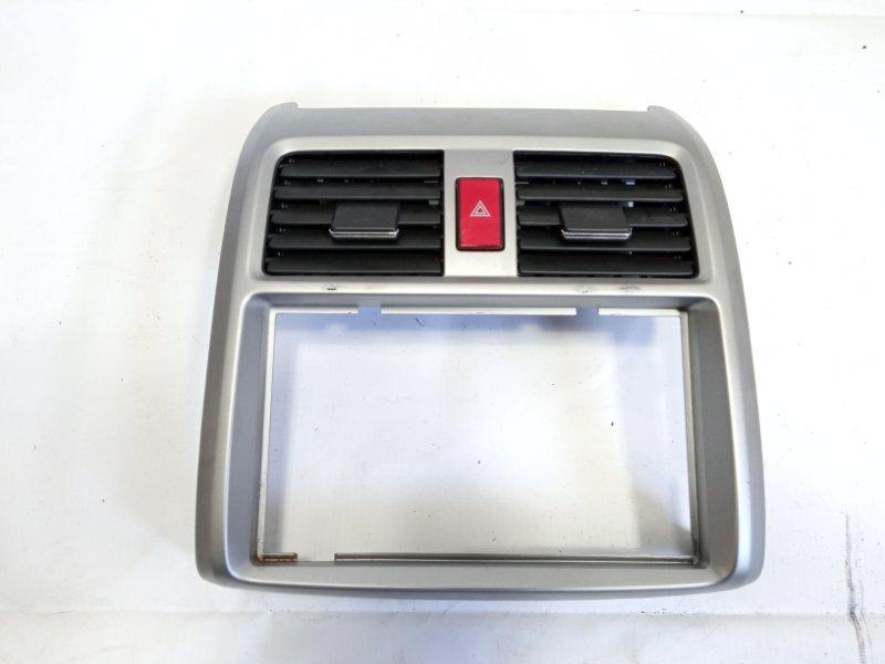 Консоль магнитофона Honda Airwave GJ1 L15A 2008 передний