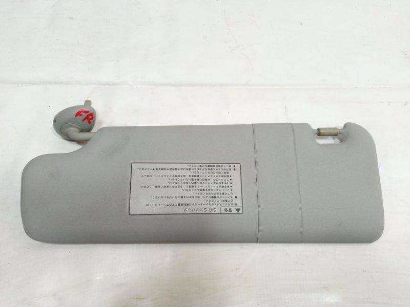 Козырек Honda Airwave GJ1 L15A 2008 передний правый