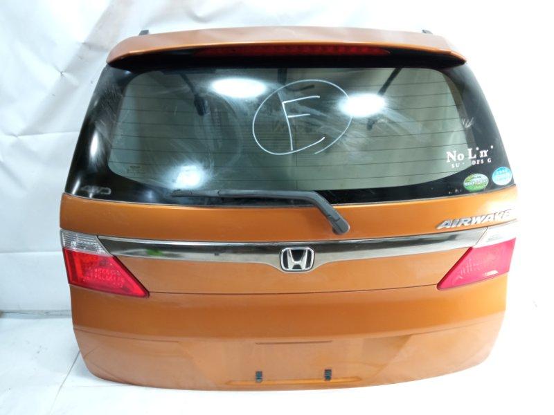 Дверь 5я Honda Airwave GJ1 L15A 2008 задняя