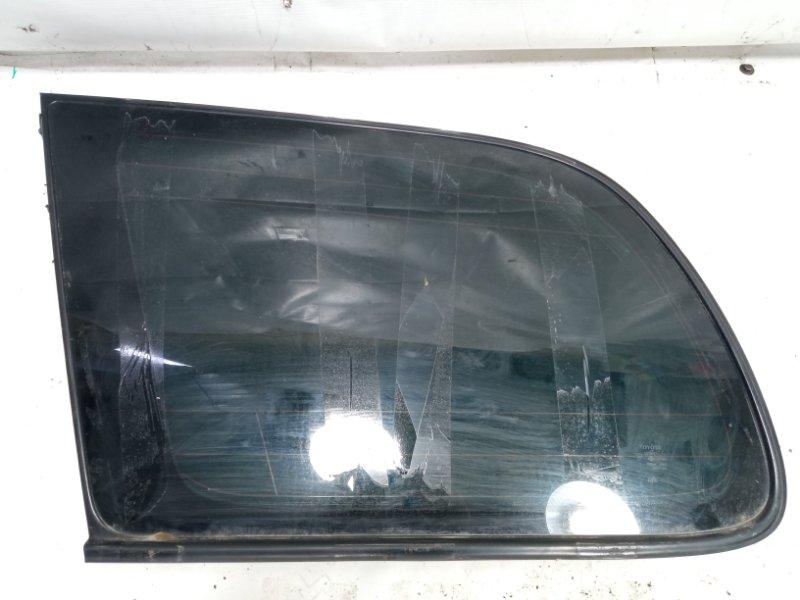 Стекло собачника Toyota Gaia SXM10 3CTE 2002 заднее левое