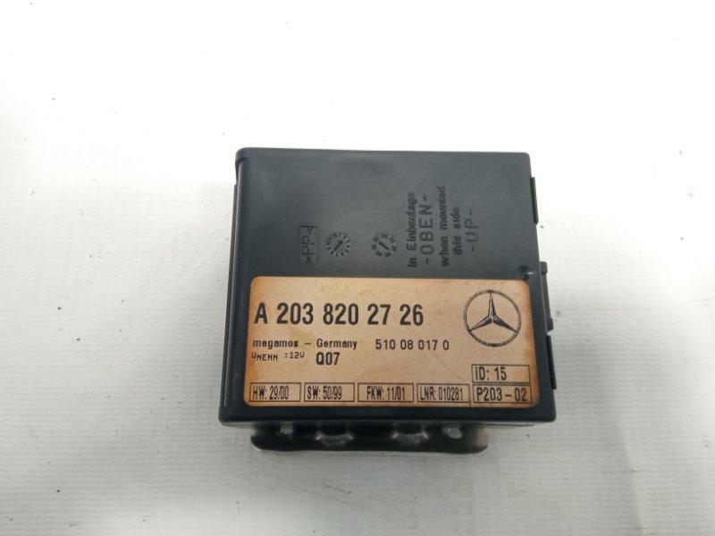 Блок управления Mercedes-Benz S-Class WDB220 M113E55 2001