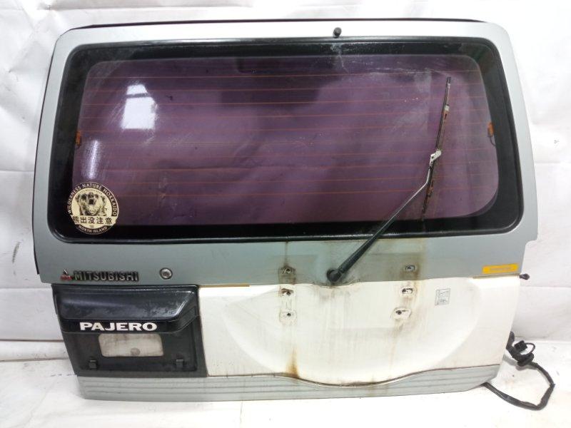 Дверь 5я Mitsubishi Pajero V21W 4M40T 1995 задняя