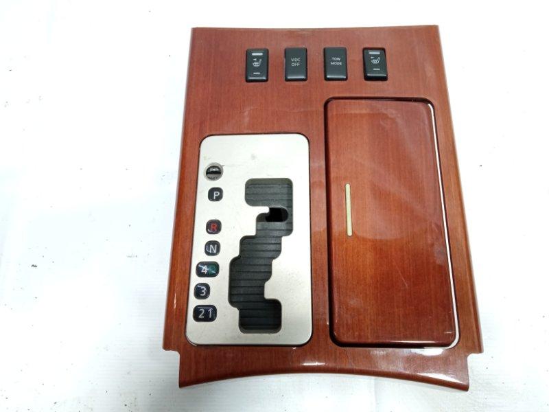 Консоль автомата Infiniti Qx56 JA60 VK56DE 2005
