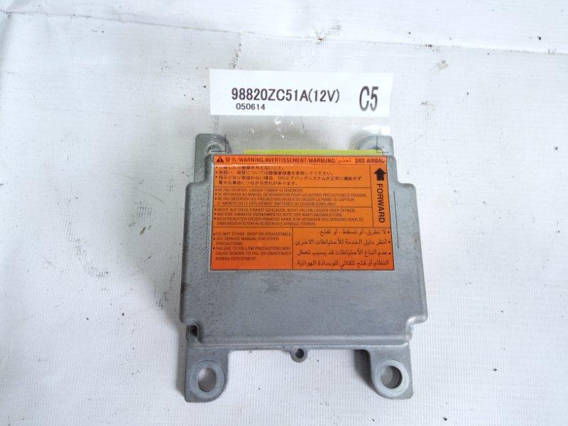 Блок управления airbag Infiniti Qx56 JA60 VK56DE 2005 передний