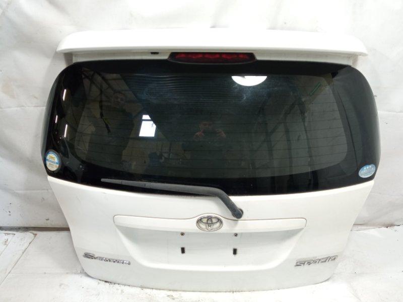 Дверь 5я Toyota Corolla Spacio ZZE122 1ZZFE 2005 задняя