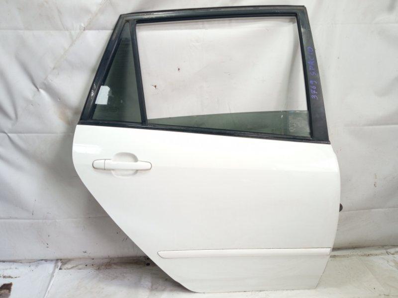 Дверь Toyota Corolla Spacio ZZE122 1ZZFE 2005 задняя правая