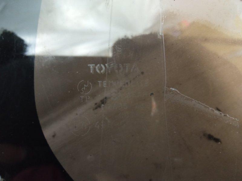 Стекло собачника Toyota Land Cruiser Prado KDJ95 1KDFTV 2000 заднее правое