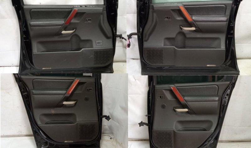 Обшивка дверей Infiniti Qx56 JA60 VK56DE 2005 задняя левая