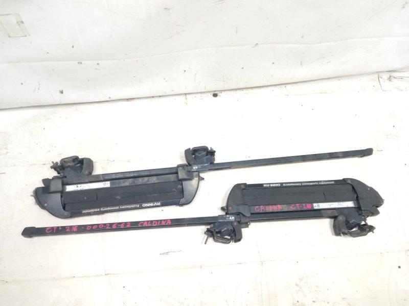 Багажник на крышу рейлинги крепление для лыж Toyota Caldina ST215 3SFE