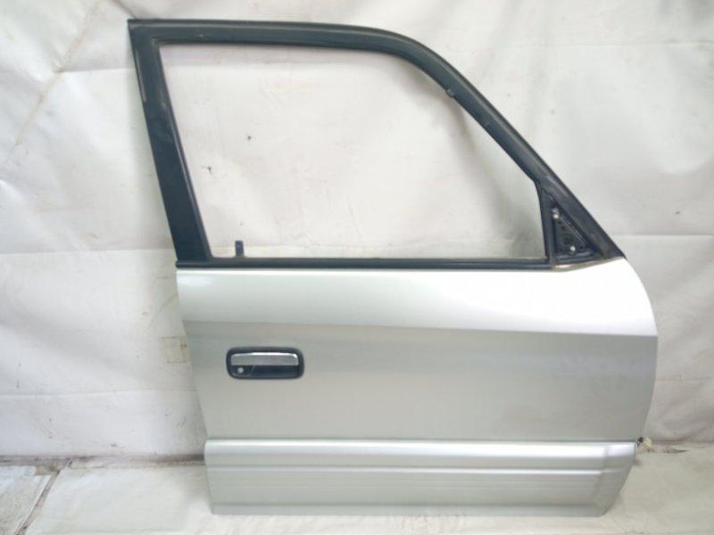 Дверь Toyota Land Cruiser Prado KDJ90 1KDFTV 2000 передняя правая