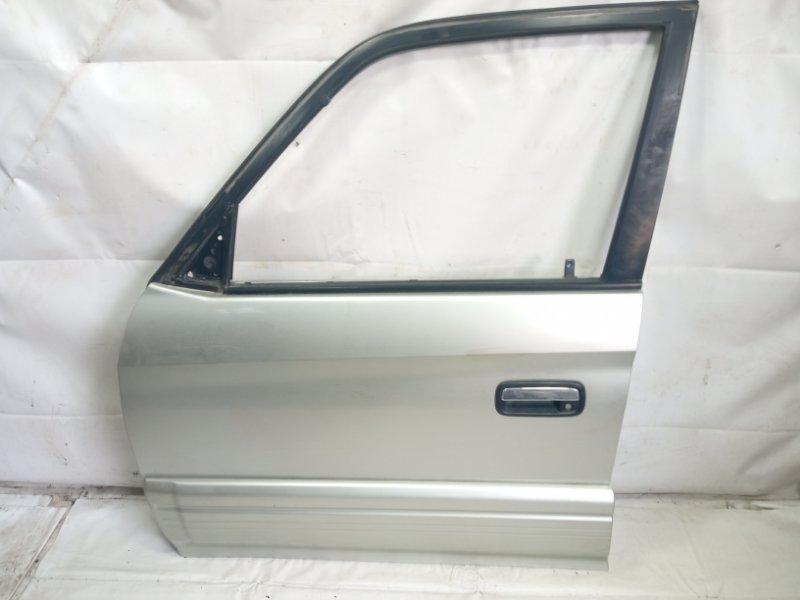 Дверь Toyota Land Cruiser Prado KDJ90 1KDFTV 2000 передняя левая