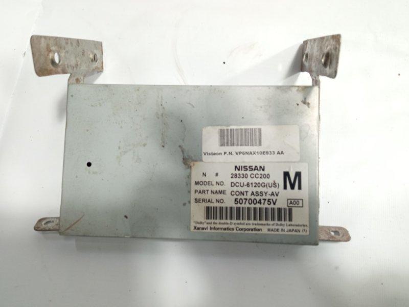 Блок управления монитором Infiniti Qx56 JA60 VK56DE 2005