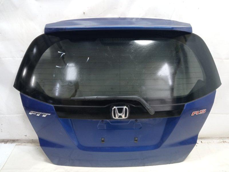 Дверь 5я Honda Fit GP1 L15A 2008 задняя