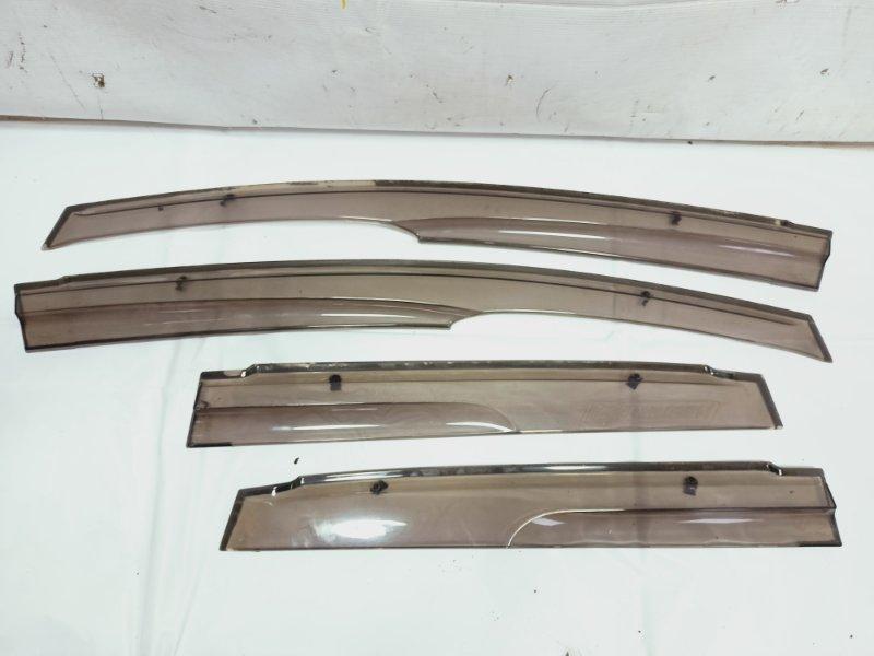 Ветровики комплект Honda Fit GP1 L15A 2008