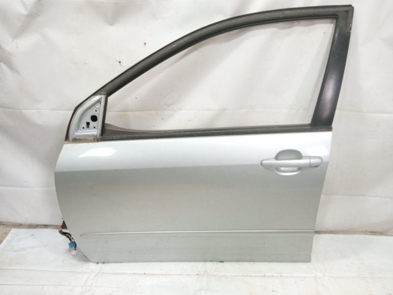 Дверь Toyota Corolla Fielder NZE121 3CE 2002 передняя левая