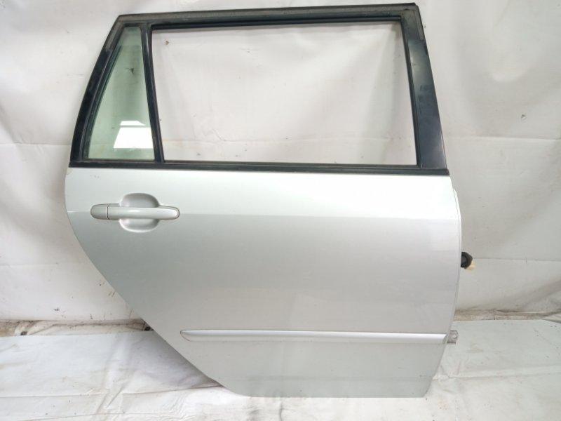 Дверь Toyota Corolla Fielder NZE121 3CE 2002 задняя правая
