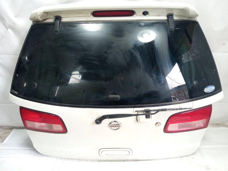 Дверь 5я Nissan Liberty RM12 QR20DE 2002 задняя
