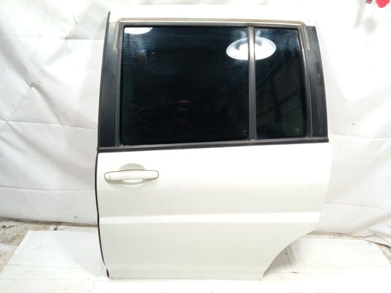 Дверь Nissan Liberty RM12 QR20DE 2002 задняя левая