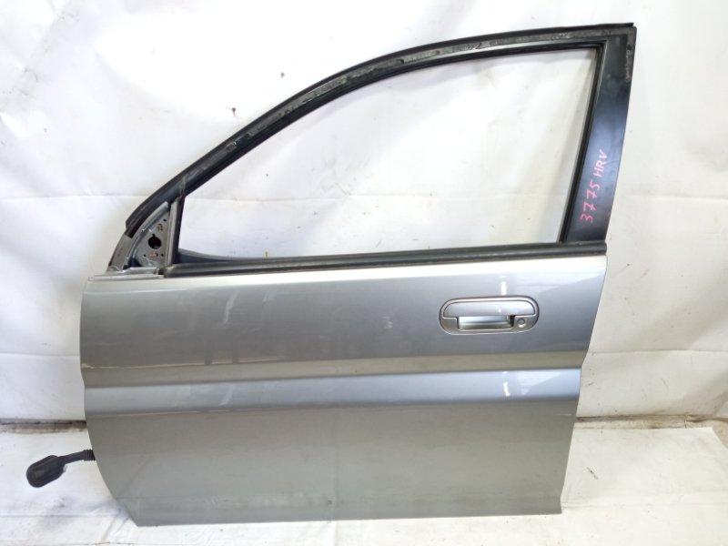 Дверь Honda Hrv GH1 D16A 2000 передняя левая