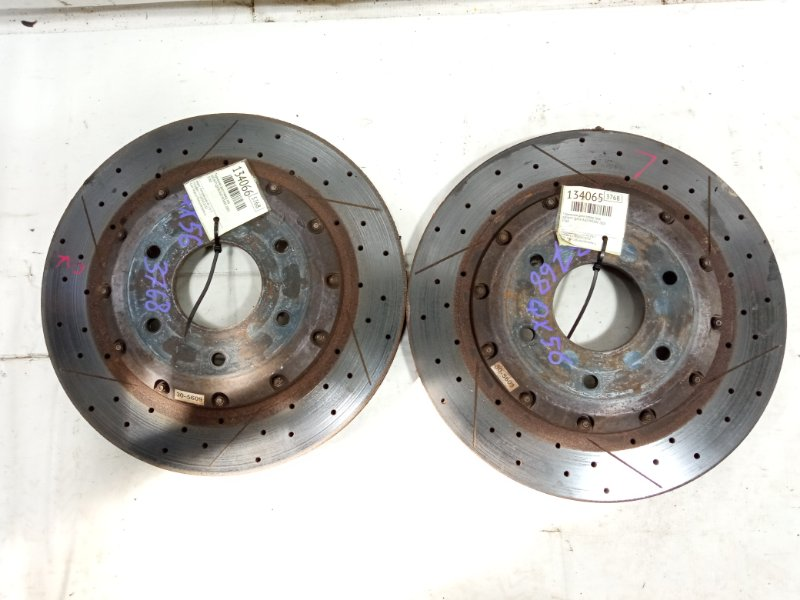 Тормозной диск Infiniti Qx56 JA60 VK56DE 2005 передний левый