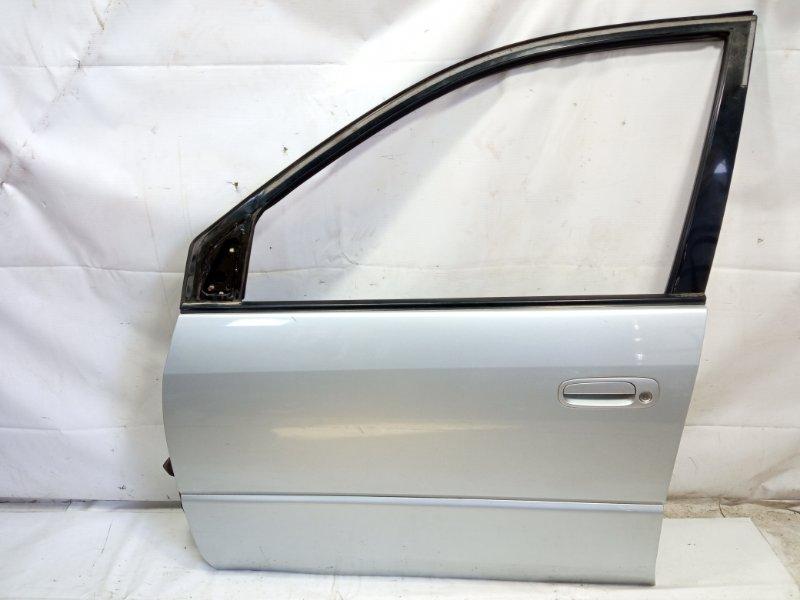 Дверь Toyota Ipsum SXM10 3CTE 1998 передняя левая