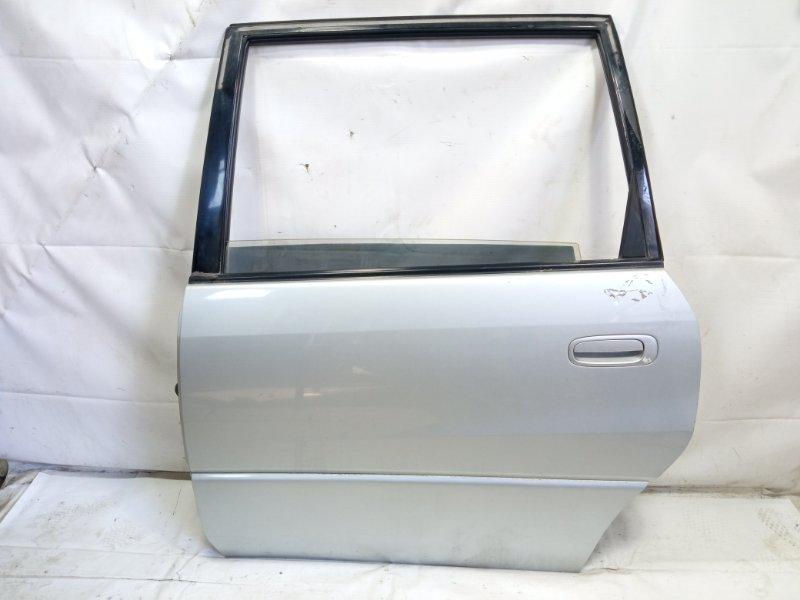Дверь Toyota Ipsum SXM10 3CTE 1998 задняя левая